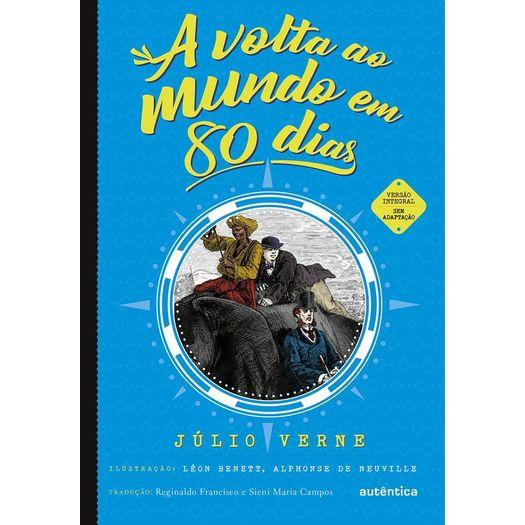 Volta Ao Mundo Em 80 Dias A Autentica Livrarias Curitiba