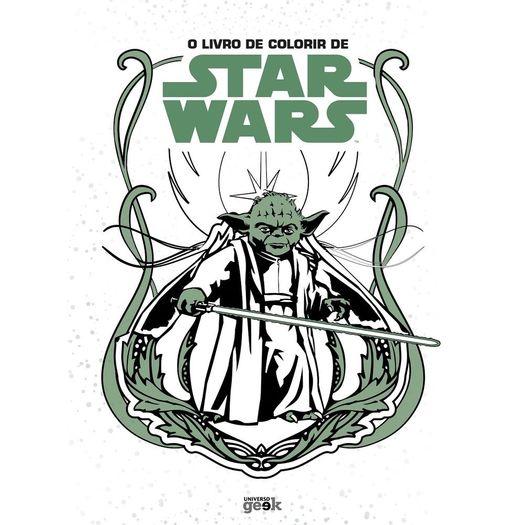 Livro De Colorir De Star Wars O Universo Geek Livrarias Curitiba