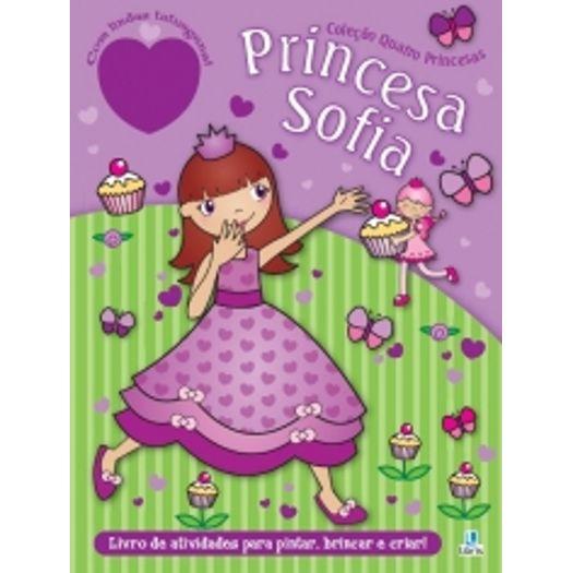 Quatro Princesas Princesa Sofia Libris Livrarias Curitiba
