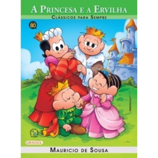 Turma Da Monica A Princesa E A Ervilha Girassol Livrarias