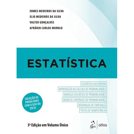 b5cd0086c4 Estatistica - Atlas - Livrarias Curitiba