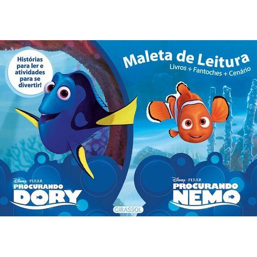 Disney Maleta De Leitura Procurando Dory E Procurando Nemo