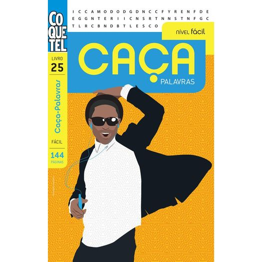774e6b2245b7f Caca Palavras - Nivel Facil - Livro 25 - Coquetel - Livrarias Curitiba