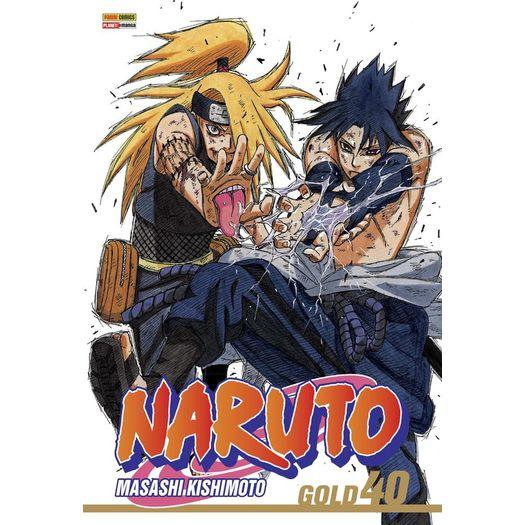 Naruto Gold 40 Panini Livrarias Curitiba