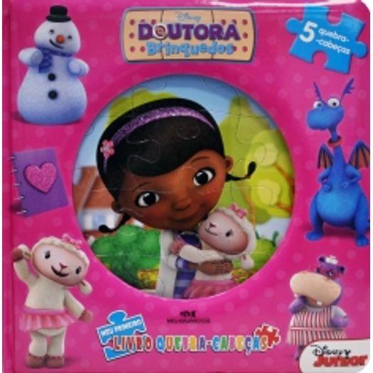 Doutora Brinquedos Meu Primeiro Livro Quebra Cabeca