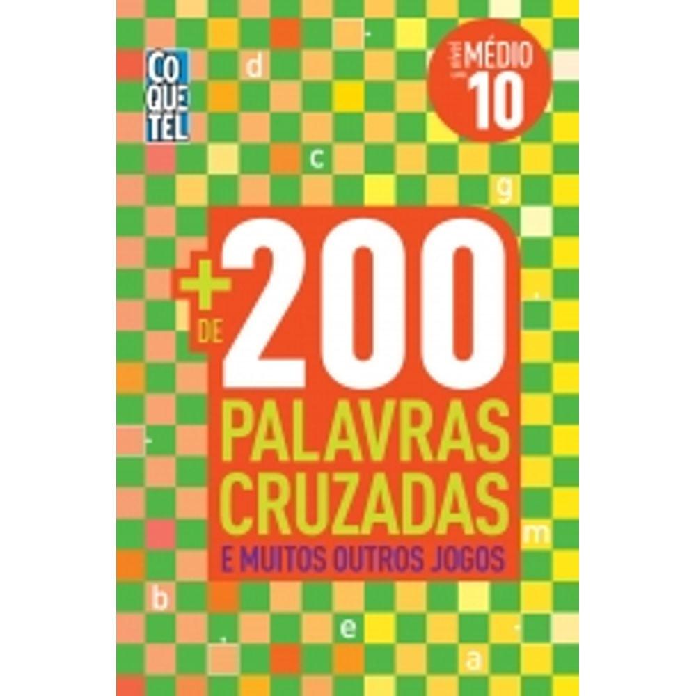 Mais 200 Palavras Cruzadas Nivel Medio 10 Coquetel Livrarias