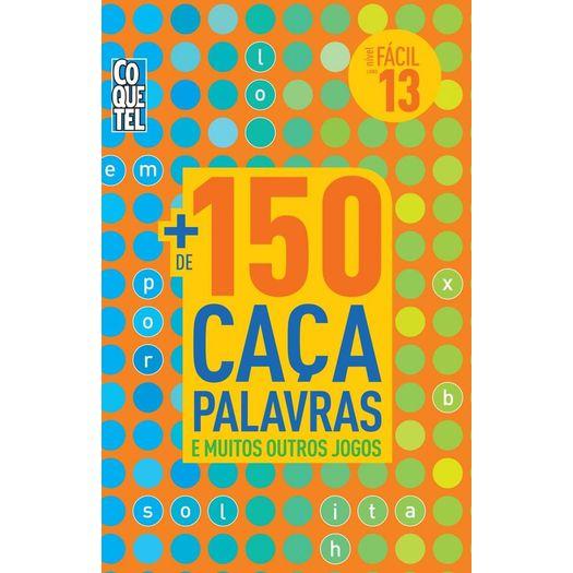 ddb056bbd19bb Mais De 150 Caca Palavras - Nivel Facil - Livro 13 - Coquetel ...