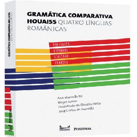 35f80bd40d3 Gramatica Comparativa Houaiss - Publifolha - Livrarias Curitiba