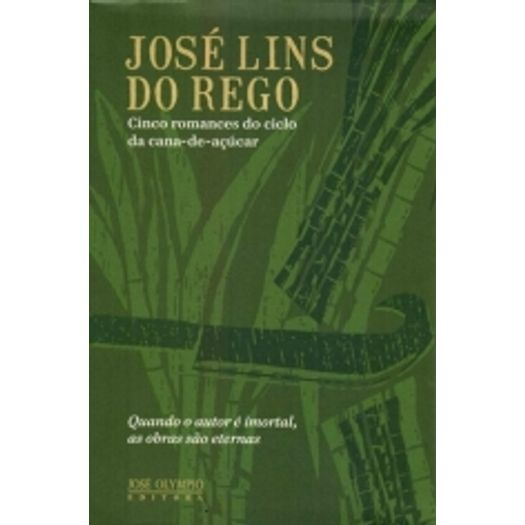 Box Jose Lins Do Rego Cinco Romances Do Ciclo Da Cana De Acucar