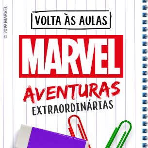 Mini Banner Marvel