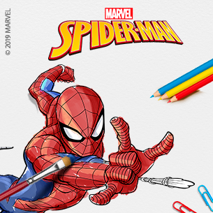 Minibanner Spiderman