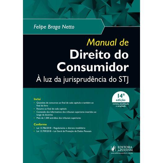 36adda1c1 Manual De Direito Do Consumidor - A Luz Da Jurisprudencia Do Stj ...