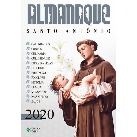 Almanaque Santo Antonio 2020 Vozes Livrarias Curitiba