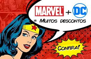 Marvel + DC