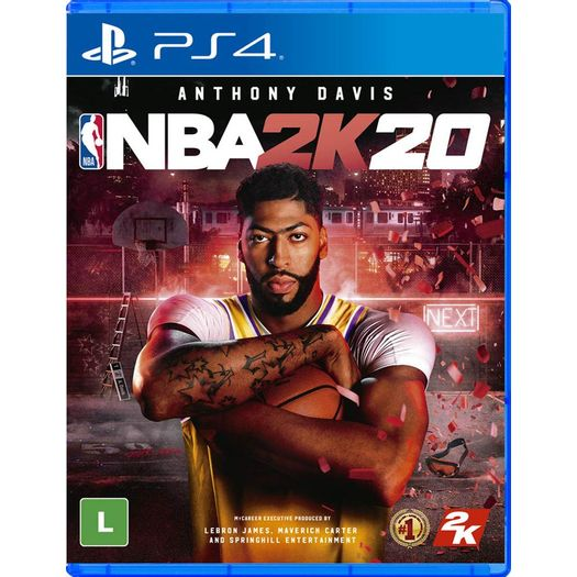 Jogo Nba 2k20 - Playstation 4 - 2k Sports