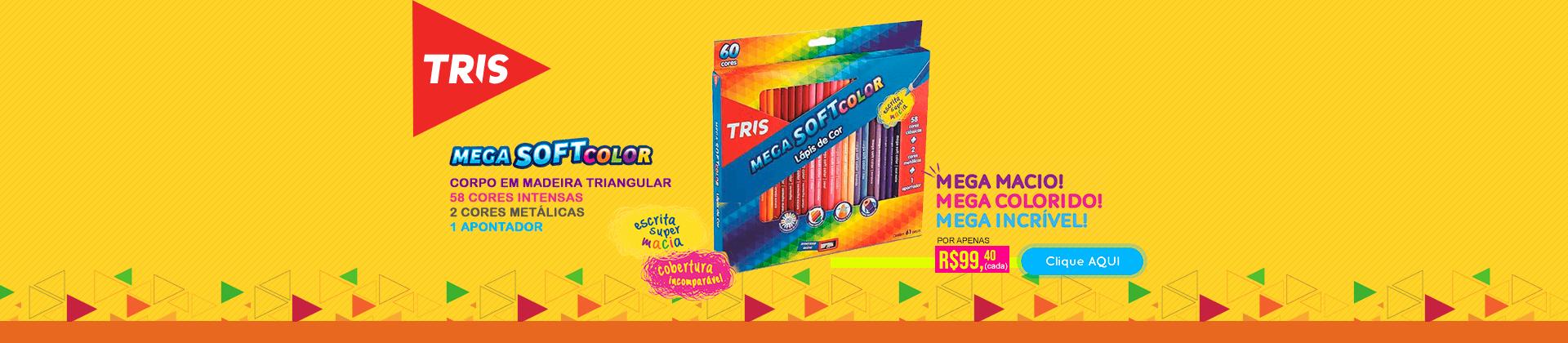 Tris - Lápis de Cor 60 cores