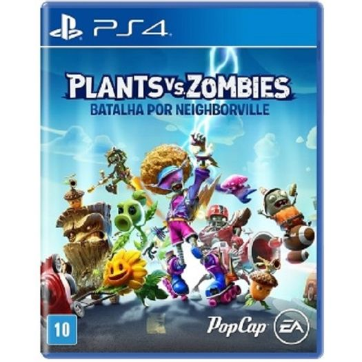Jogo Plants Vs Zombies - Batalha por Neighborville - Playstation 4 - Ea Games