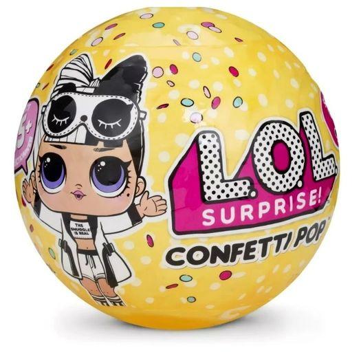Boneca Lol Surprise Confetti Pop 9 Surpresas 8906 Candide