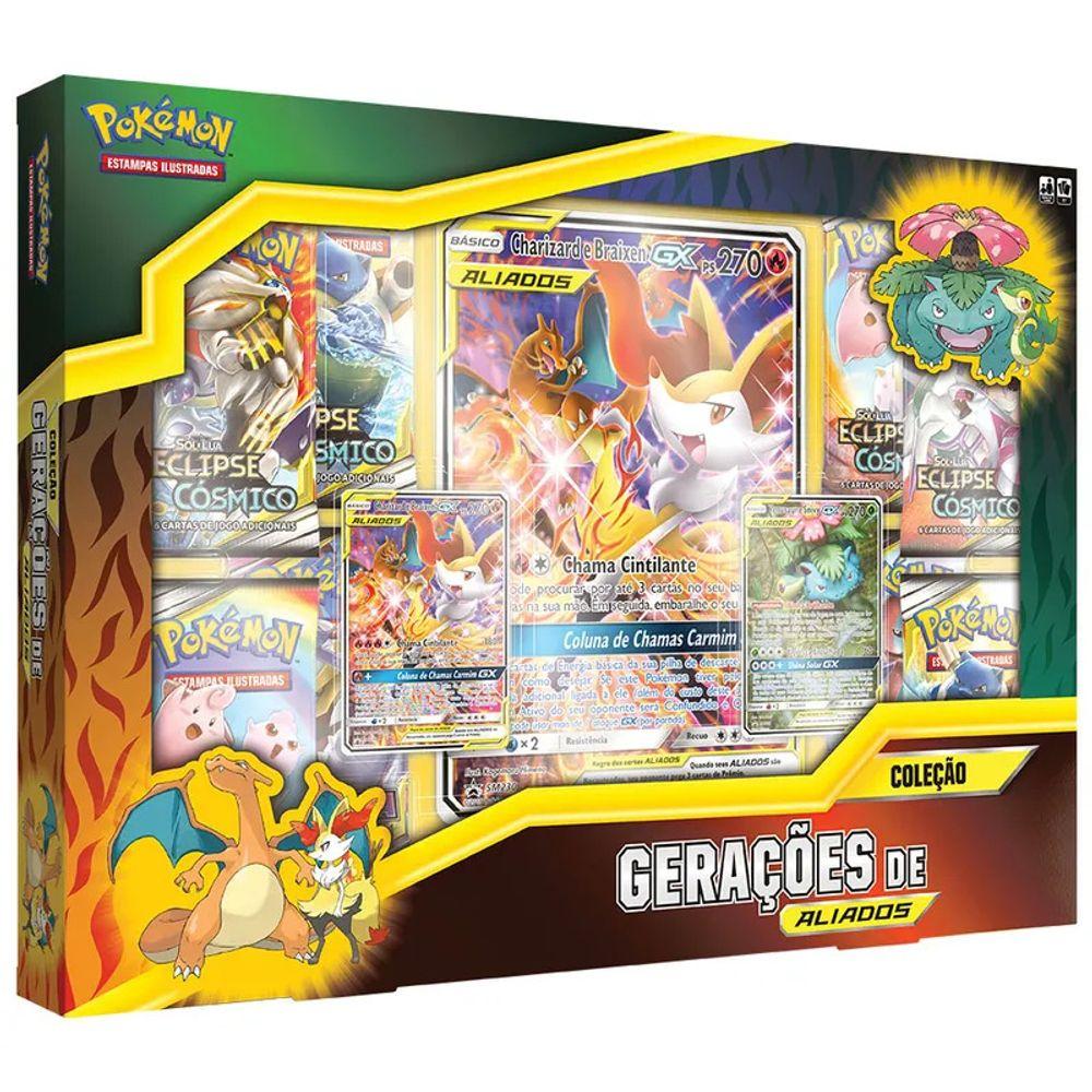 Pokemon Box Eclipse Cosmico Geracao De Aliados Livrarias Curitiba