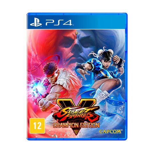 Jogo Street Fighter V - Champion Edition - Playstation 4 - Capcom
