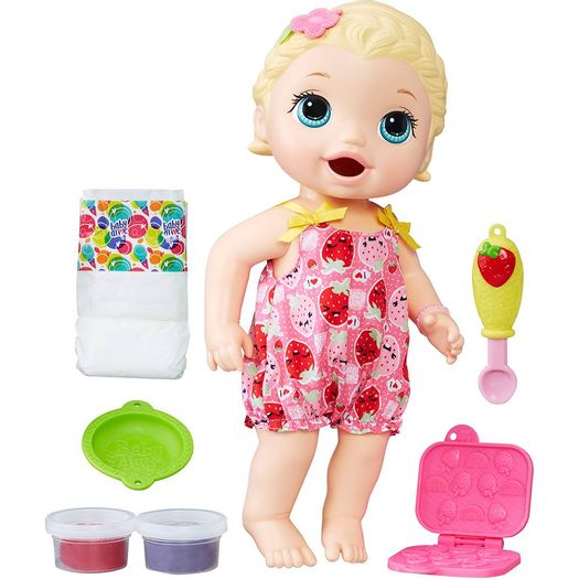 Boneca Baby Alive Lanchinho Divertido C2697 Hasbro Livrarias