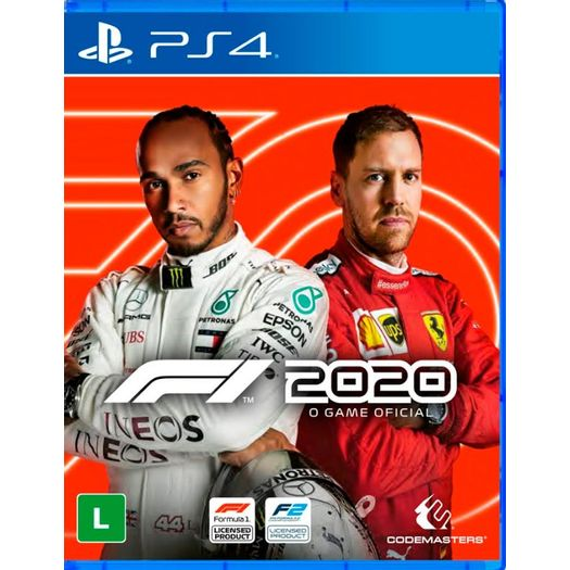 Jogo F1 2020 - Playstation 4 - Codemasters