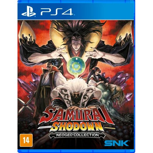 Jogo Samurai Shodown - Playstation 4 - Snk