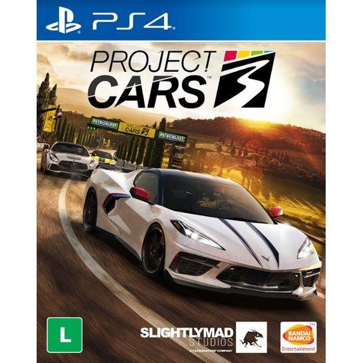 Jogo Project Cars 3 - Playstation 4 - Bandai Namco Games