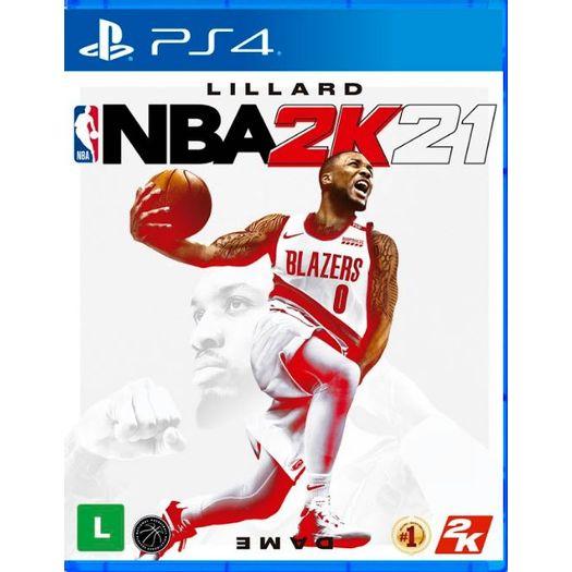 Jogo Nba 2k21 - Playstation 4 - 2k Sports