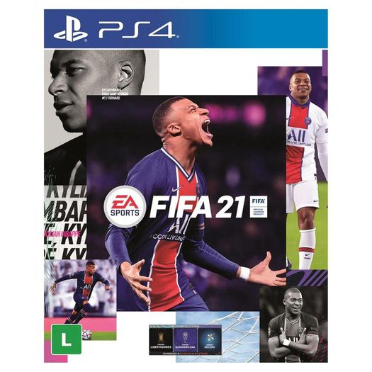 Jogo Fifa 21 - Playstation 4 - Ea Sports