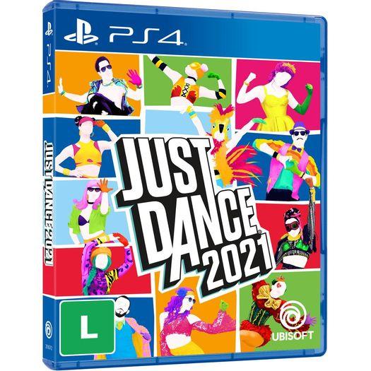 Jogo Just Dance 2021 - Playstation 4 - Ubisoft