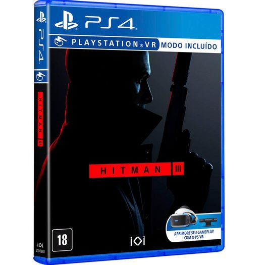 Jogo Hitman 3 - Playstation 4 - Square Enix