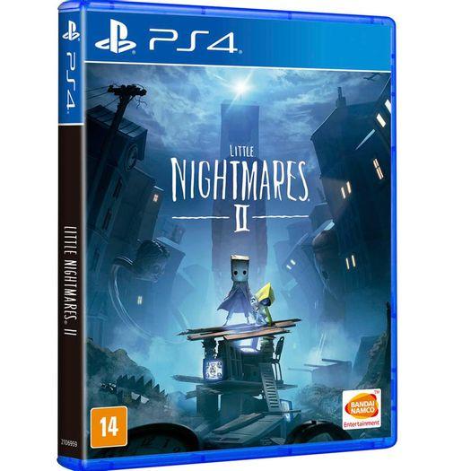 Jogo Little Nightmares 2 - Playstation 4 - Bandai Namco Games