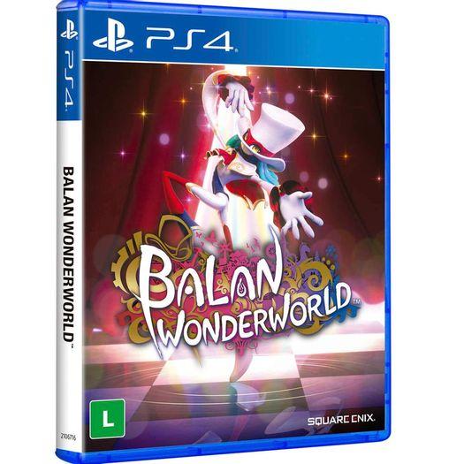 Jogo Balan Wonderworld - Playstation 4 - World