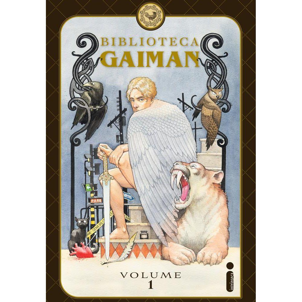 Biblioteca Gaiman - Vol 1 - Desconto Aqui