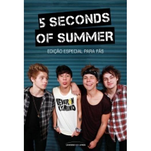 e0750284cc59a 5 Seconds Of Summer - Edicao Especial Para Fas - Universo Dos Livros ...