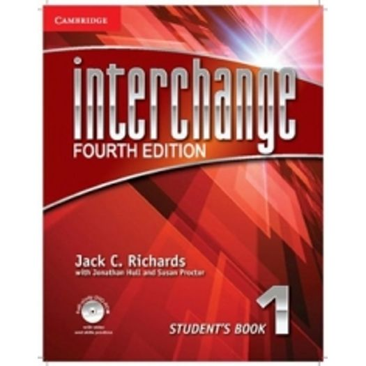 Interchange fourth edition 1 students book cambridge livrarias interchange fourth edition is a four level series for adult and young adult learners of english from the beginning to the high intermediate level fandeluxe Gallery