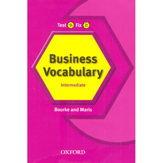 Test It Fix It Business English Vocabulary - Oxford