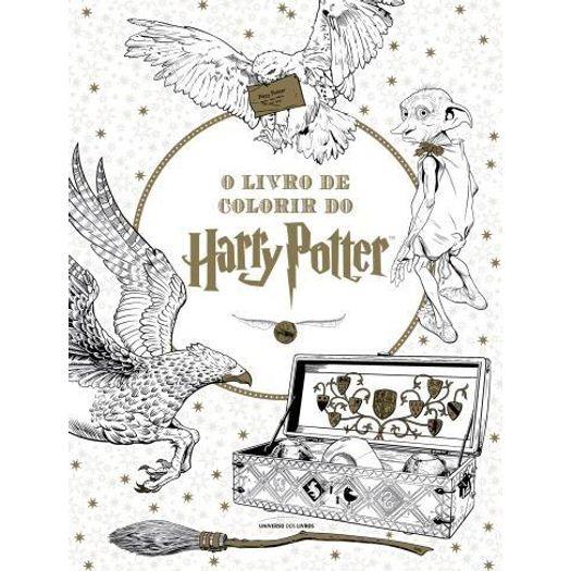 Livro De Colorir Do Harry Potter, O
