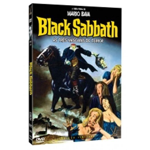 Dvd Black Sabbath As Tres Mascaras Do Terror 2 Dvds