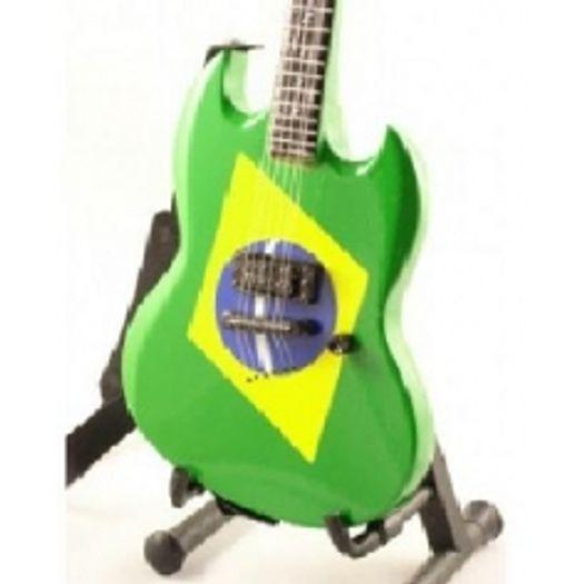 Miniatura Guitarra Soulfly Gibson Sg N Continente - Livrarias Curitiba