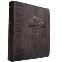 Biblia-Ministerial-Nvi---Luxo-Marrom-Escuro---Vida