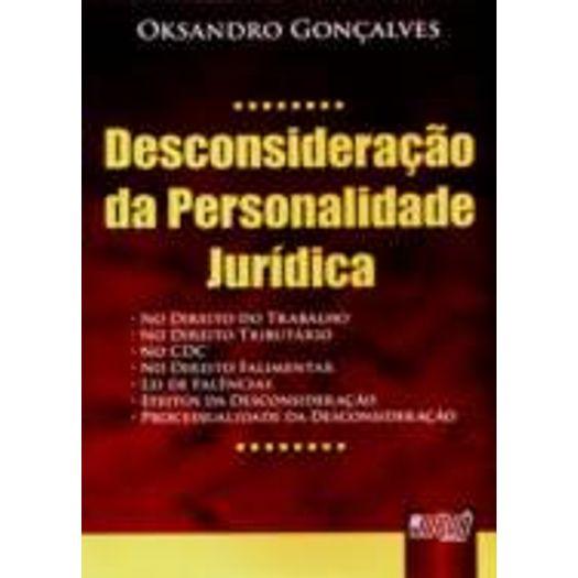 DESCONSIDERACAO-DA-PERSONALIDADE-JURIDICA---JURUA