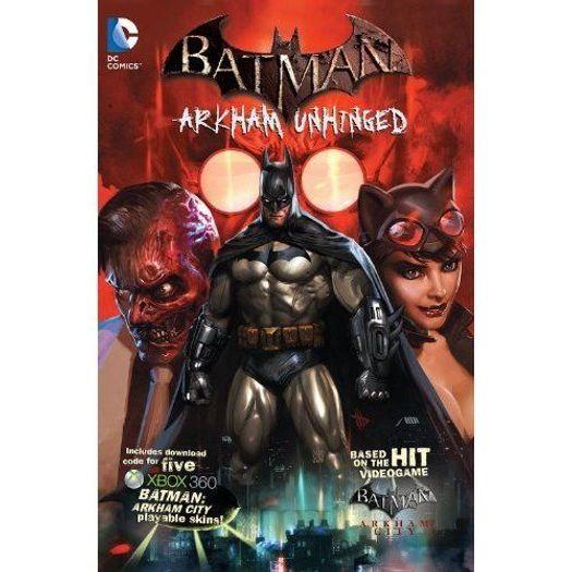 BATMAN---ARKHAM-UNHINGED---HC---DC-COMICS