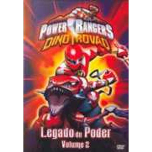 Dvd Power Rangers Dino Trovao Vol 2 Legado De Poder Livrarias