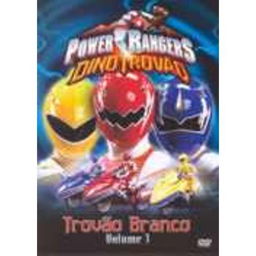 Dvd Power Rangers Dino Trovao Vol 3 Trovao Branco Livrarias