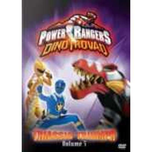 Dvd Power Rangers Dino Trovao Vol 5 Triunfo Triassico