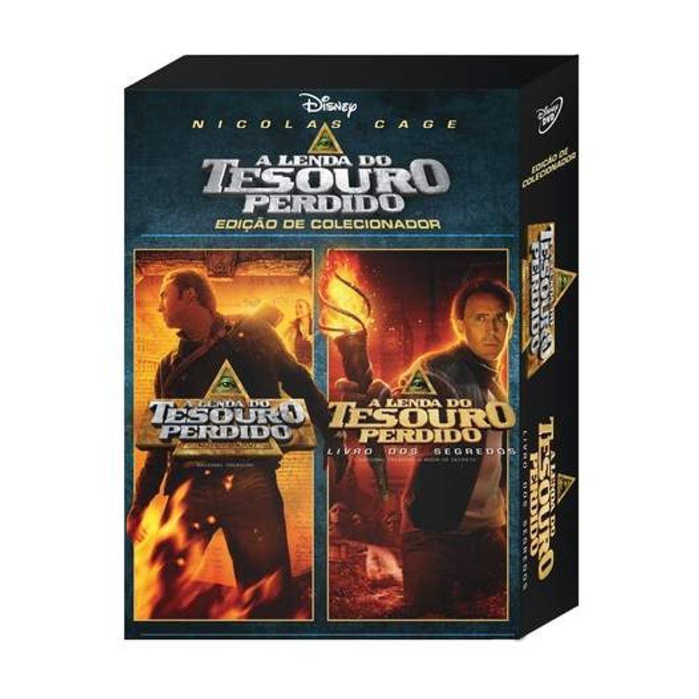 Dvd A Lenda Do Tesouro Perdido A Lenda Do Tesouro Perdido 2 2