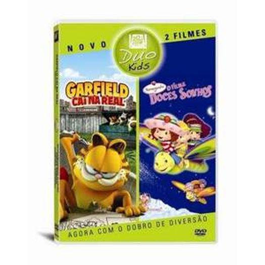 Dvd Garfield Cai Na Real Moranguinho Livrarias Curitiba