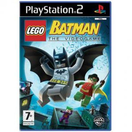 Lego Batman The Video Game Ps2 Livrarias Curitiba